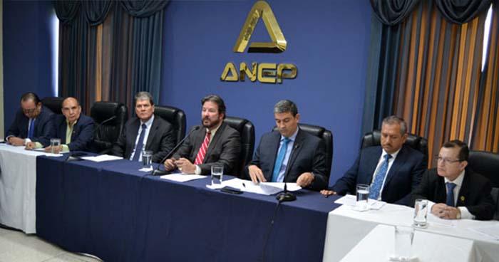 ANEP acusa al FMLN de desviar la atención del caso Funes con el tema de la privatización del agua