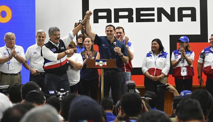 La derecha se impone en las legislativas de El Salvador