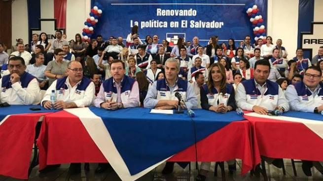 ARENA critica discurso del presidente del TSE contra magistrados de la Sala