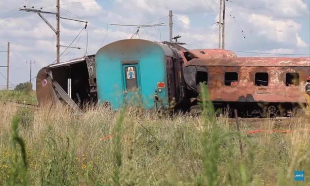 Accidente de tren deja al menos 14 muertos y más de 100 heridos en Sudáfrica