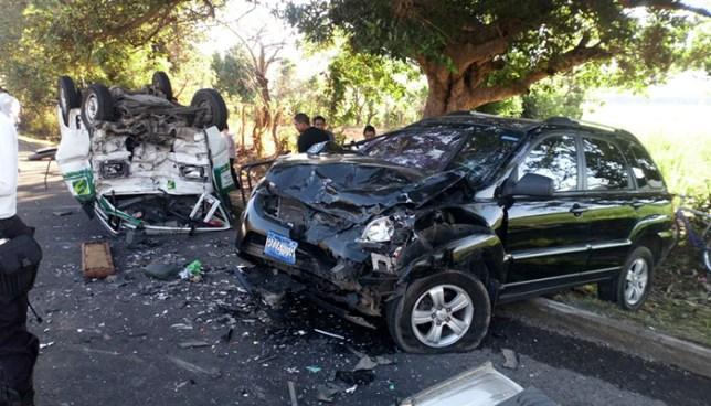 Más de 10 personas fallecidas en accidentes de tránsito durante este fin de semana