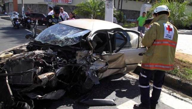 Un total de 1,592 accidentes de tránsito fueron registrados durante el mes de enero