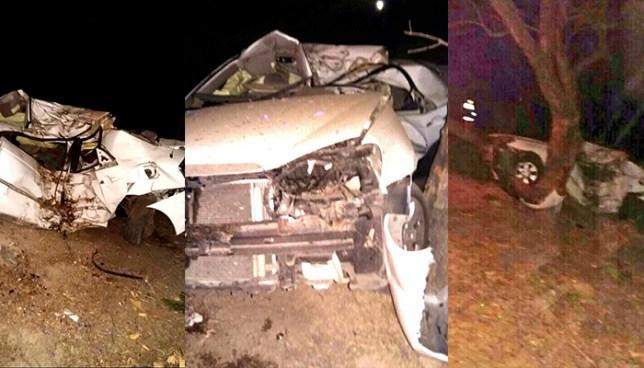 Aparatoso accidente de tránsito en San Vicente deja dos víctimas mortales