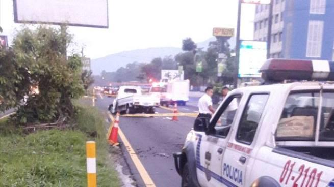 Accidente de tránsito deja un fallecido en carretera de Oro