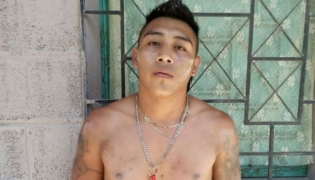 "Capturan al ""Killer"", peligroso asesino que se escondía en San Martín"