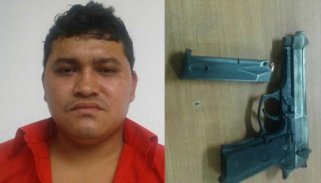 Capturan en San Salvador a sujeto por el delito de tenencia ilegal de arma de fuego