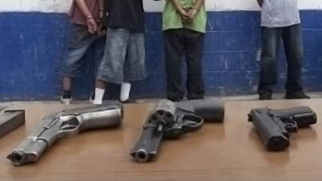 Más de 200 armas de fuego han sido decomisadas en el departamento de Usulután