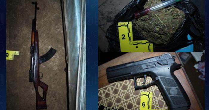Caen armados y con droga cuatro pandilleros de la MS en Usulután