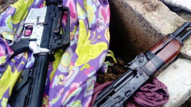 Capturan a cuatro pandilleros con drogas y fuerte arsenal militar en Zaragoza