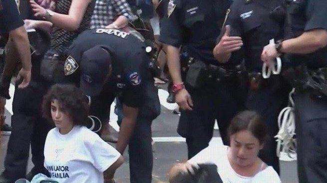 Arrestan a 'Dreamers' que realizaron protesta tras conocer la eliminación del DACA