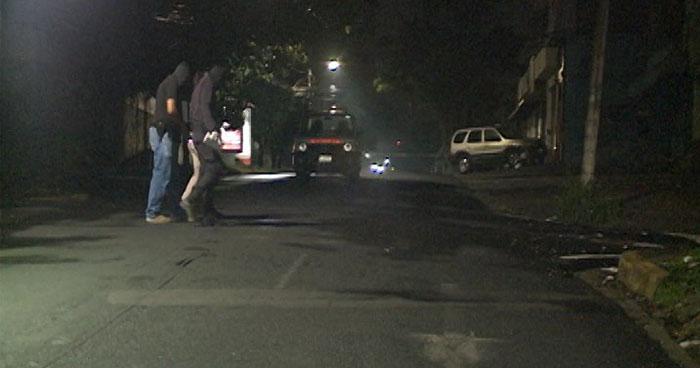 Ataque armado en colonia Escalón deja tres jóvenes lesionados