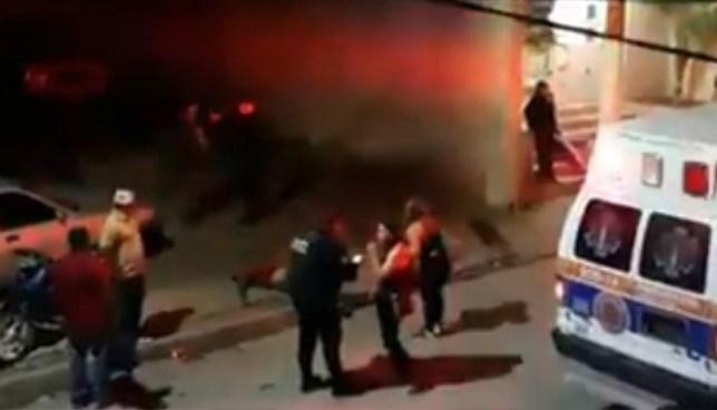 Ataque de sicarios en el centro de México deja ocho personas muertas