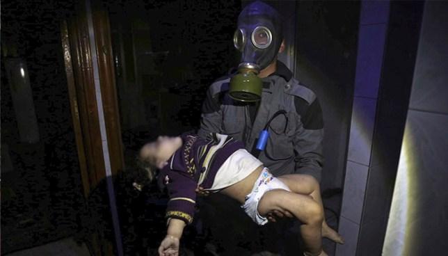 Supuesto ataque químico en Siria deja al menos 80 personas fallecidas