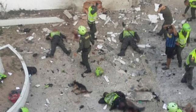 Ataque con granada en puesto policial de Barranquilla deja al menos 3 muertos