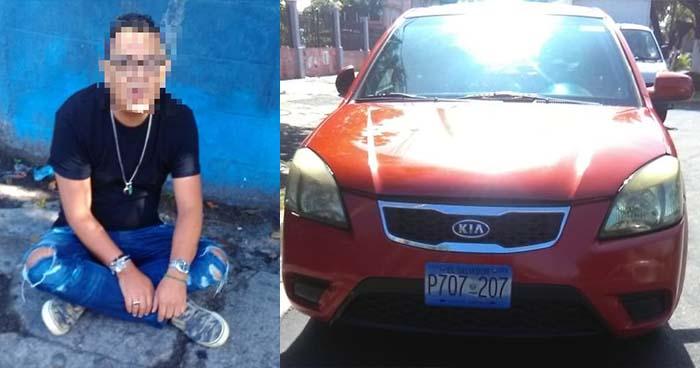 Atrapan a automovilista que intentó huir luego de atropellar a un peatón en Mejicanos