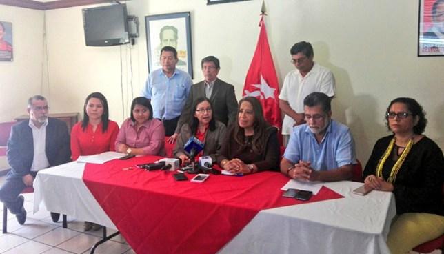 Nueva bancada legislativa del FMLN renunciará a todos sus privilegios