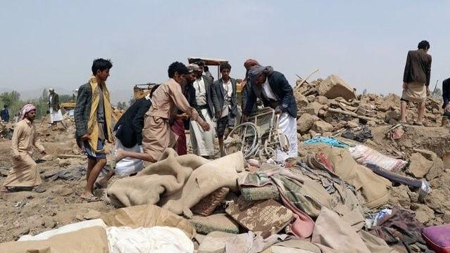 Al menos 9 civiles mueren en bombardeo de la coalición en Yemen