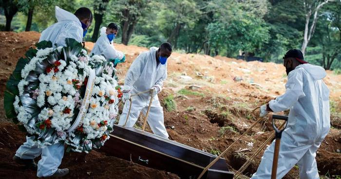 Brasil supera las 390.000 muertes por COVID-19