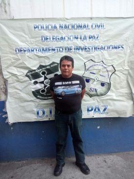 Miembro del CAM es detenido por el delito extorsión