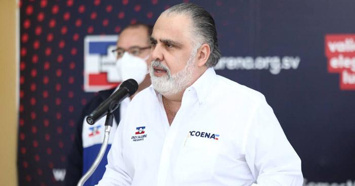 """ARENA reconoce resultados de elecciones y ofrece """"renovar"""" el partido"""