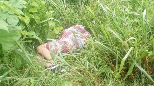 Localizan cadáver envuelto en sábanas a un costado de la Carretera de Oro