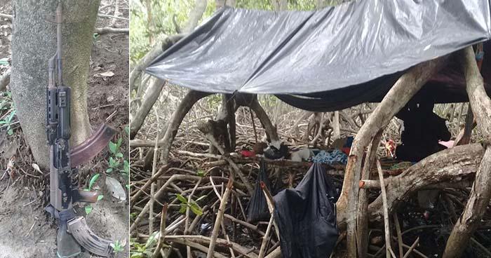 Ubican campamentos de pandilleros en un manglar de Puerto El Triunfo, Usulután