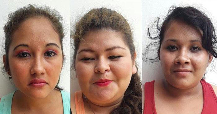 Capturan en Ahuachapán a tres mujeres luego que asaltaran a una persona
