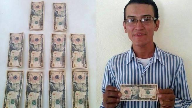 PNC captura falsificador de billetes en un mercado de Cabañas