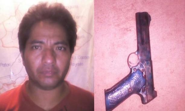 Detienen en La Unión a sujeto que portaba un arma de fuego de manera ilegal