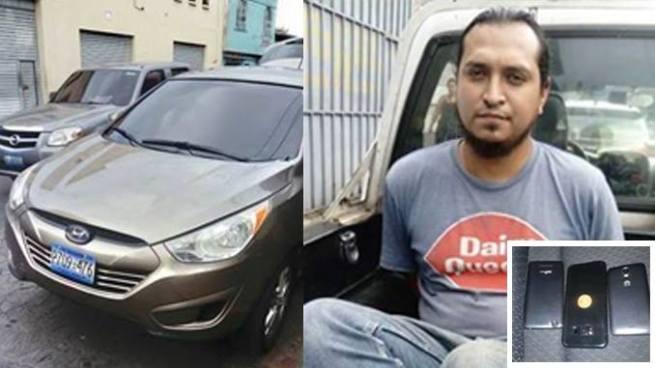 Capturan a sujeto que usaba una camioneta para delinquir en la capital