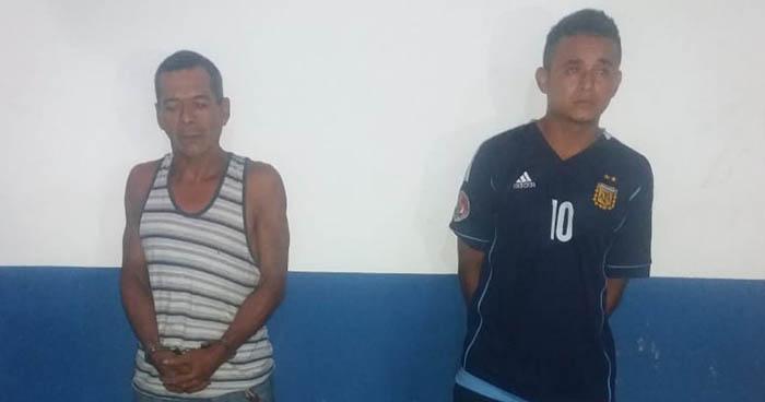 Arrestan en Ahuachapán a sujetos que portaban armas de fuego y droga