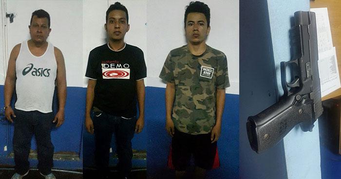 Capturan armados a sujetos que eran buscados por diversos delitos en Guazapa