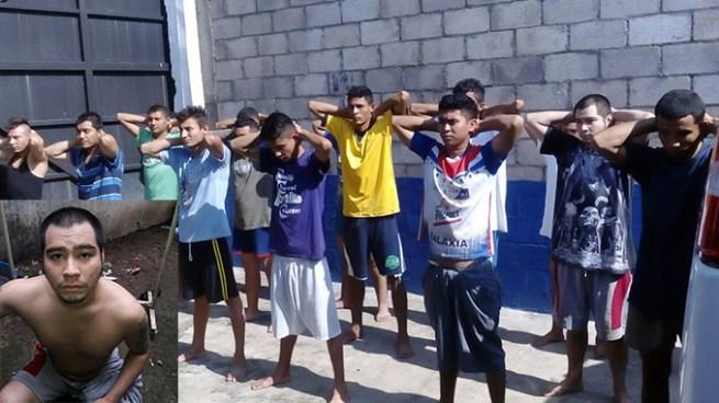 Capturan a 16 sujetos vinculados al asesinato de un agente policial en Ereguayquín, Usulután