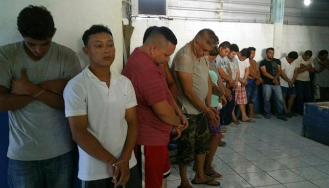 Operativo en La Unión deja la captura de cerca de 40 miembros de pandillas