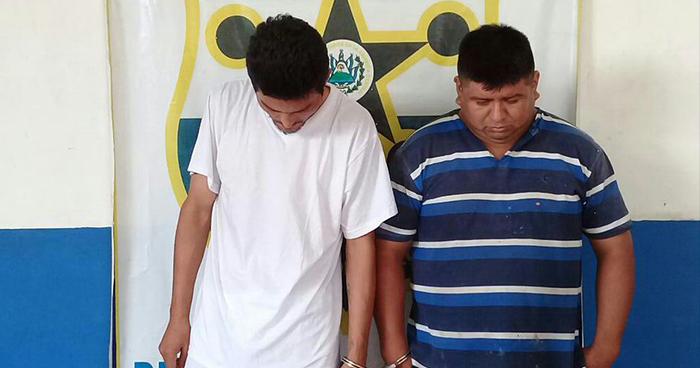 PNC captura en Morazán a sujetos que portaban un arma de fuego y droga