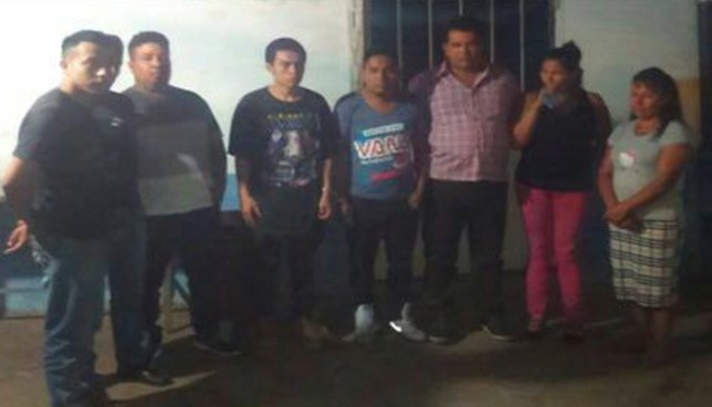 Operativo simultáneo en tres departamentos del país deja la captura de 40 sujetos