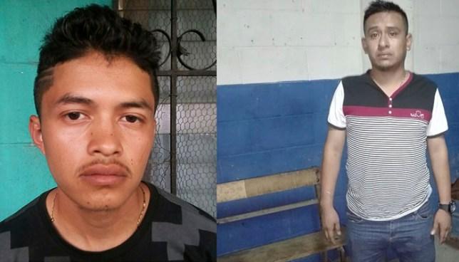 Capturan en San Salvador a dos pandilleros por los delitos de tenencia de droga y extorsión