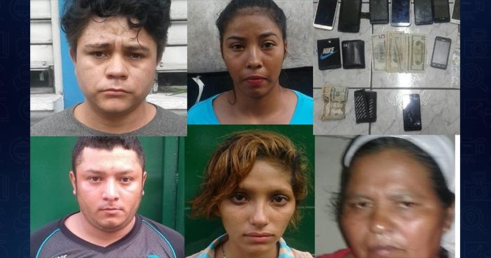 Cae asaltante de buses y pandilleros que guardaban los objetos robados en San Salvador