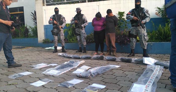 Operativos simultáneos en San Salvador dejan varias capturas e incautaciones