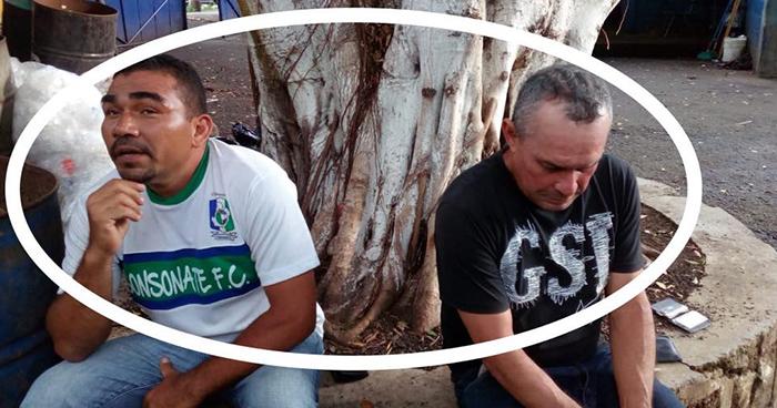 Capturan en Sonsonate a sujetos que abordaron autobús del transporte colectivo para robar
