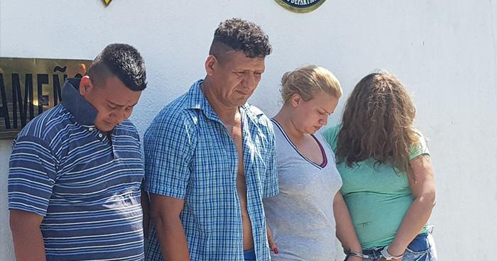 Capturan a pandilleros encargados de distribuir droga en el oriente del país