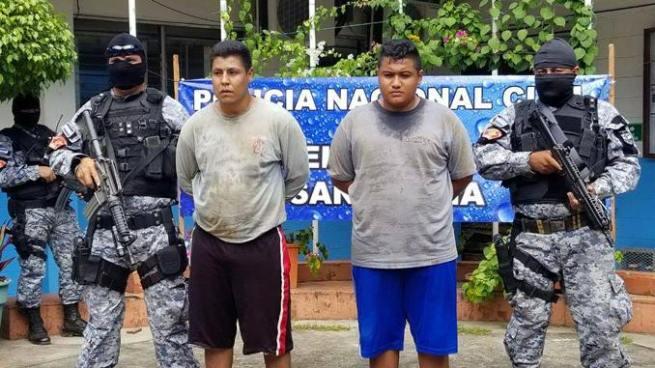 Capturan a sujetos acusados de matar a un comerciante el día de ayer en Chalchuapa