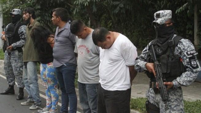 Más de 100 capturas durante operativos de la PNC en San Salvador