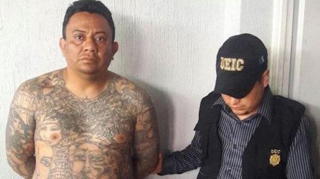 """Capturan a """"El Zombi"""", pandillero salvadoreño acusado de saquear viviendas en Guatemala"""