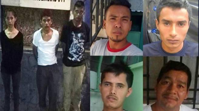 Capturan a 7 sujetos vinculados a delitos de violación, feminicidio y otros ilícitos en La Libertad