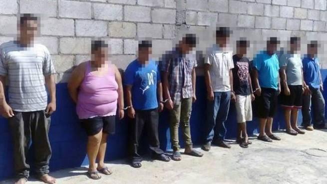 Capturan a 13 delincuentes y privan de libertad a 2 menores por diversos delitos en Usulután