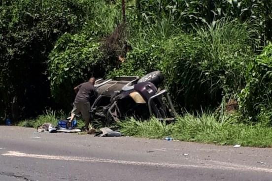 Accidente de tránsito deja a una persona fallecida en carretera de Sonsonate