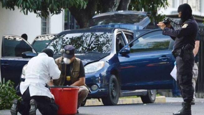Exmilitar capacitó a pandilleros para realizar un atentado terrorista con un coche bomba