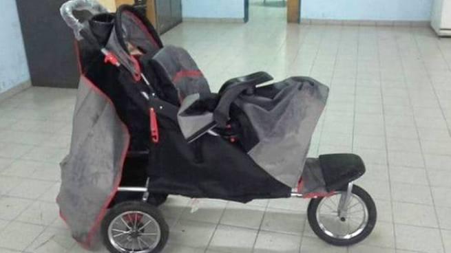 Reo intentó fugarse en un coche de bebé en Argentina