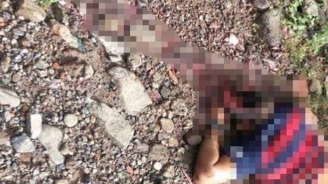 Mata a balazos y ultiman a pedradas a vigilante del Mercado Dueñas en La Libertad